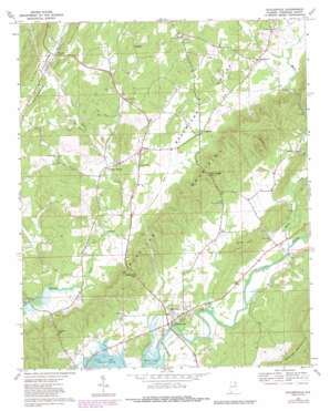 Gaylesville USGS topographic map 34085c5