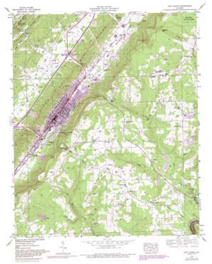 Fort Payne topo map