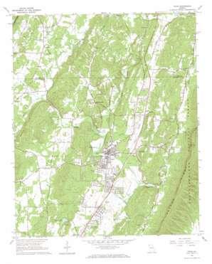 Trion topo map