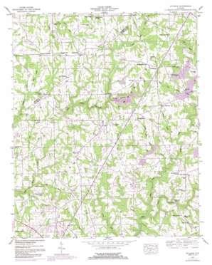 Sylvania topo map