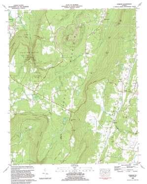 Durham topo map