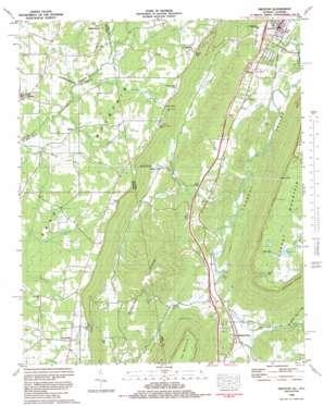Trenton topo map