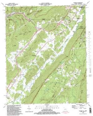 Hooker topo map