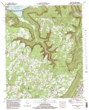 New Home topo map