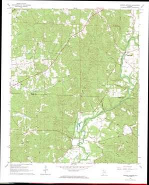 Henson Springs topo map