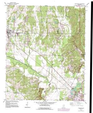 Nettleton topo map