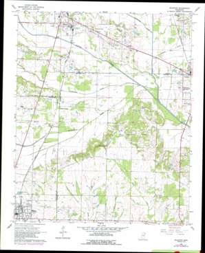 Shannon topo map