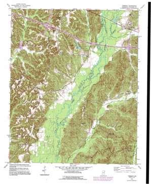 Tremont topo map