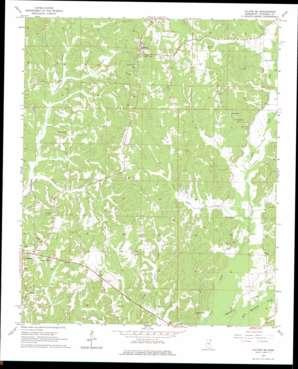 Fulton Se topo map