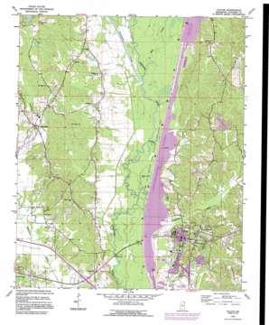 Fulton USGS topographic map 34088c4