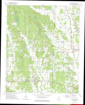 Mooreville topo map