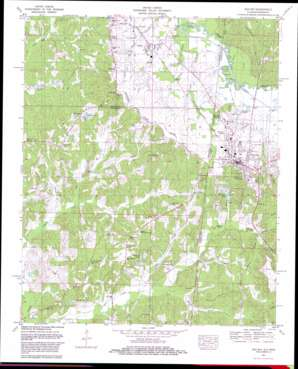 Red Bay topo map