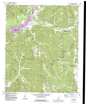 Fulton Ne topo map