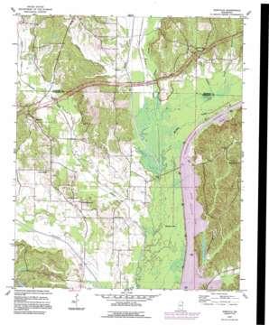 Kirkville USGS topographic map 34088d4