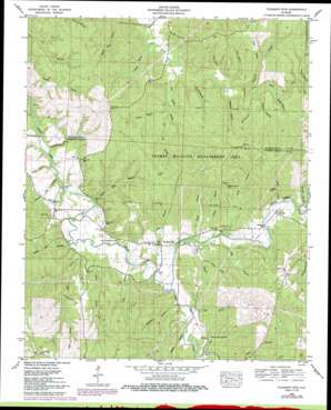Corinth USGS topographic map 34088e1