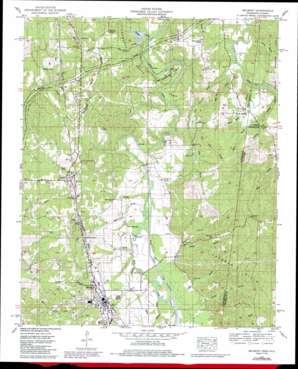 Belmont topo map