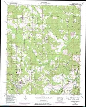 Tishomingo topo map