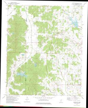 Jumpertown USGS topographic map 34088f6