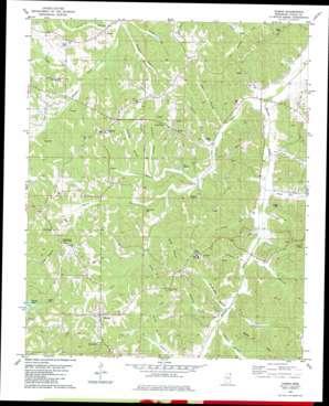 Dumas USGS topographic map 34088f7