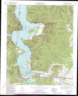 Margerum topo map