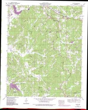 Glens topo map
