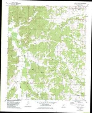 Kossuth South USGS topographic map 34088g6