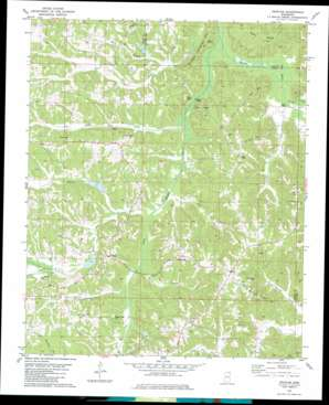 Peoples topo map
