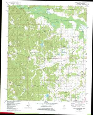 Kossuth North topo map