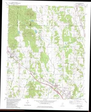 Myrtle topo map