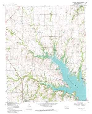 Kingston North topo map