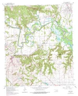 Ravia topo map