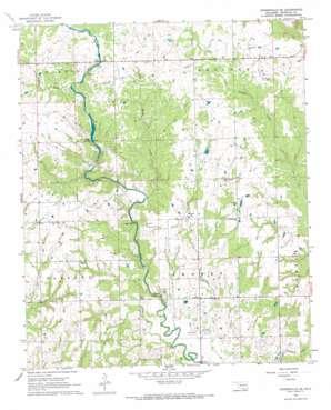 Connerville Se topo map