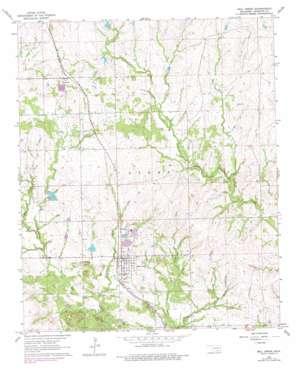 Mill Creek topo map