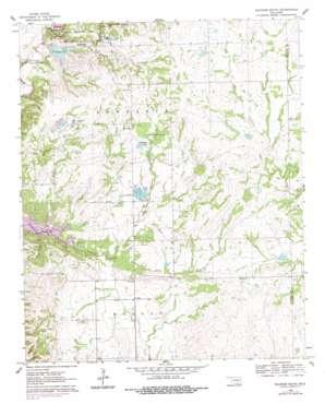 Sulphur South topo map