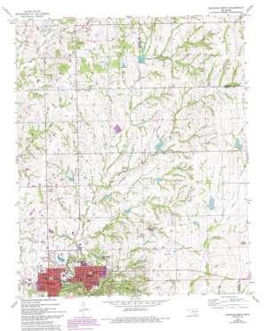 Sulphur North USGS topographic map 34096e8