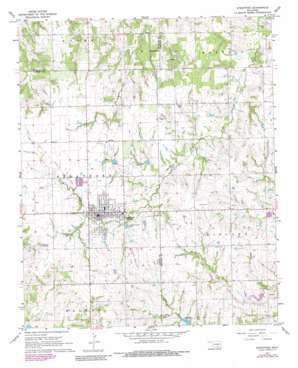 Stratford topo map