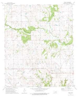 Grady topo map