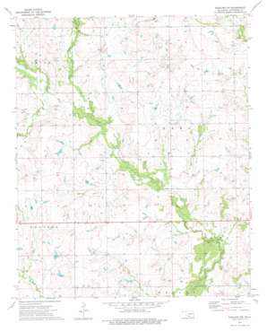 Ringling Nw topo map