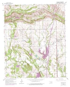 Springer topo map