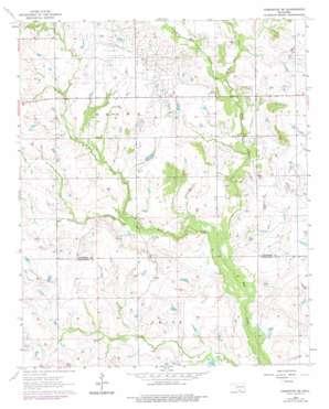 Comanche Se topo map