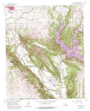Dougherty topo map