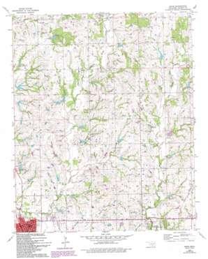 Davis topo map