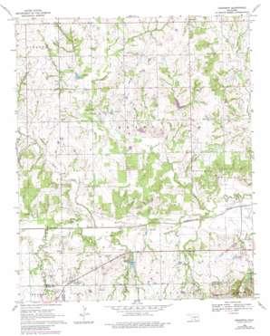 Hennepin topo map