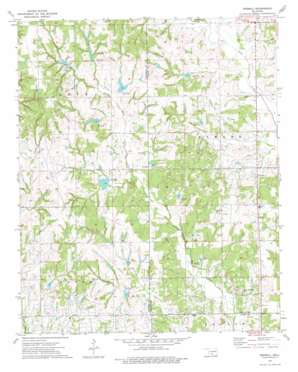 Pernell topo map
