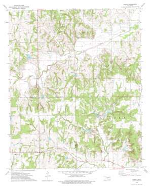 Purdy topo map