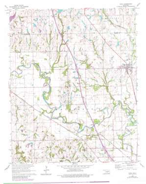 Paoli USGS topographic map 34097g3