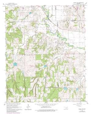 Lindsay Sw topo map