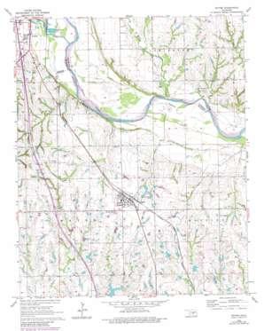 Wayne topo map