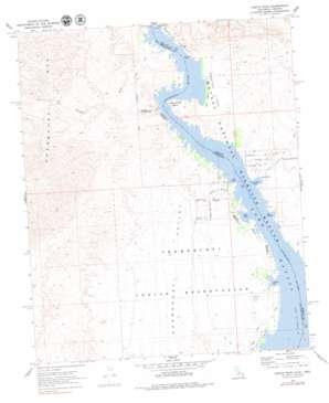 Castle Rock topo map