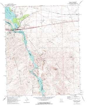 Topock topo map